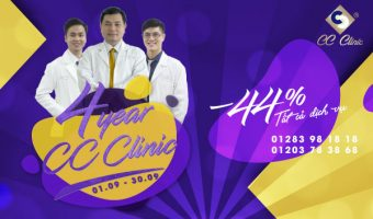 [SEPTEMBER EVENT] BUSTLING BIRTHDAY – PREFERENTIAL GOLD MONTH – 44% SHOCK DISCOUNT FOR ALL CC CLINIC SERVICES